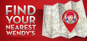 Wendy's Restaurant Locator
