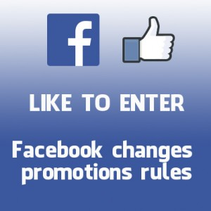Facebook changes promotions rules