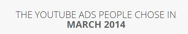 Top YouTube Travel Video Ads in March