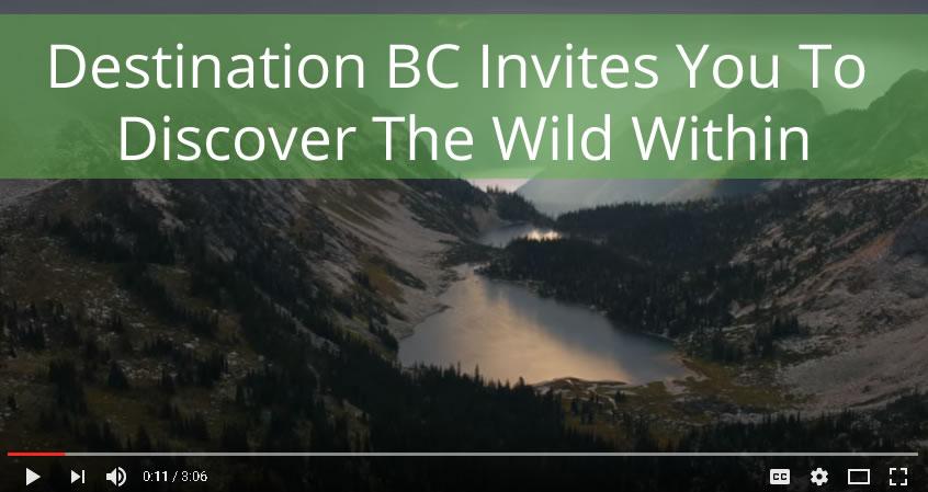 Destination BC Wild Within Tourism Strategy
