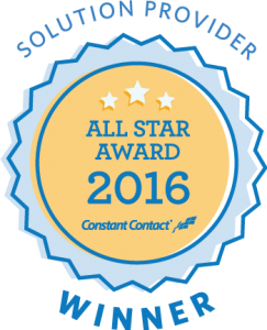 Constant Contact 2016 All Star Award