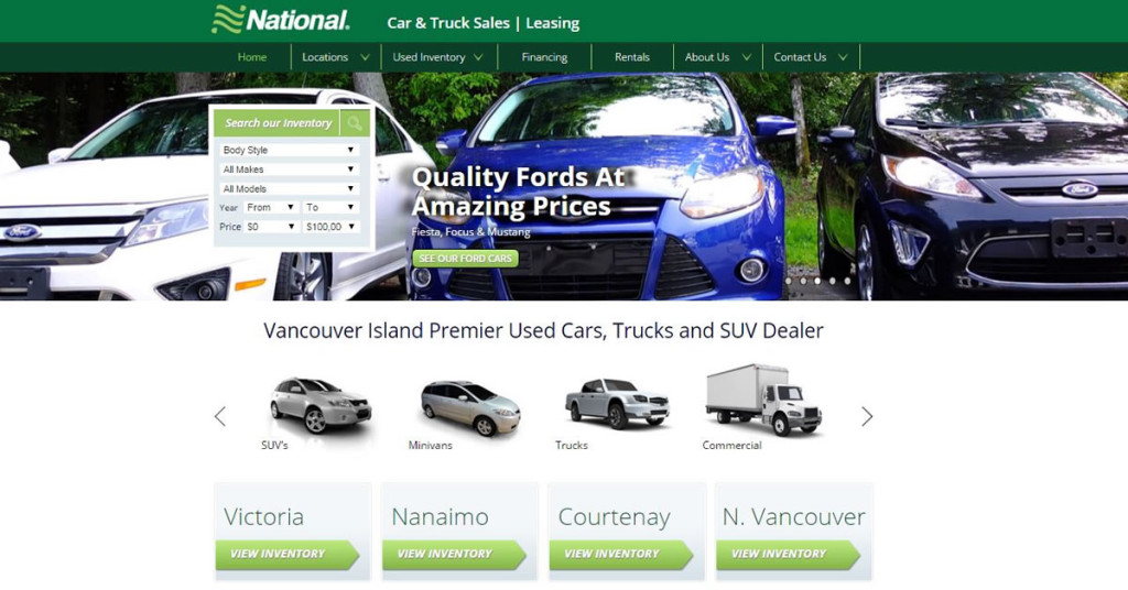 Vancouver Island National Car & Truck Sales
