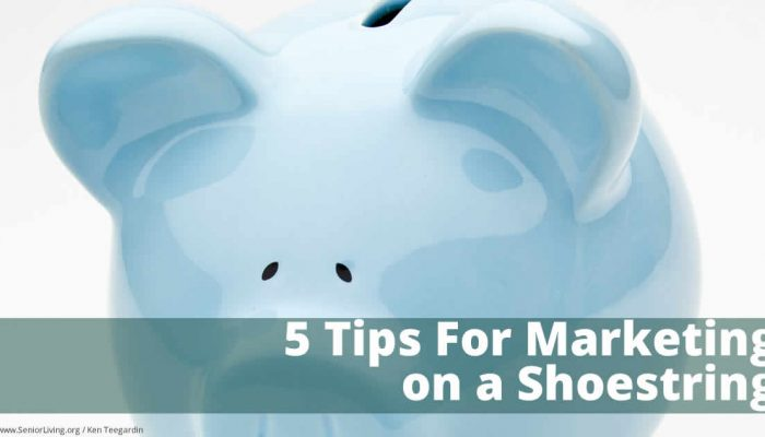 5 tips for marketing on a shoestring