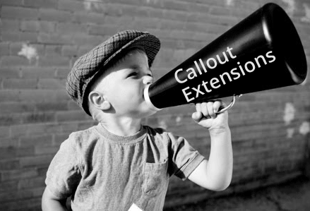 Google AdWords Callout Extensions