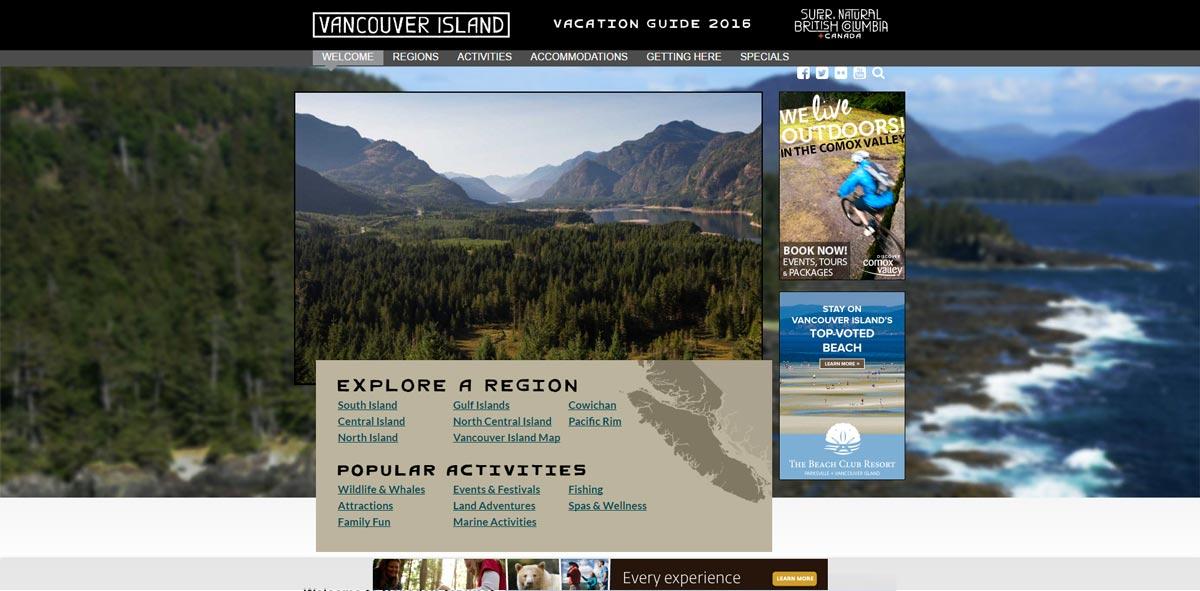 Client: Tourism Vancouver Island