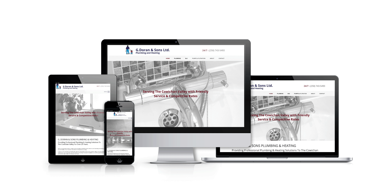 G Doran and Sons Website Portfolio