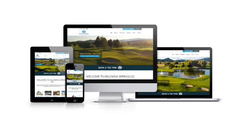 Kelowna Springs Website Portfolio