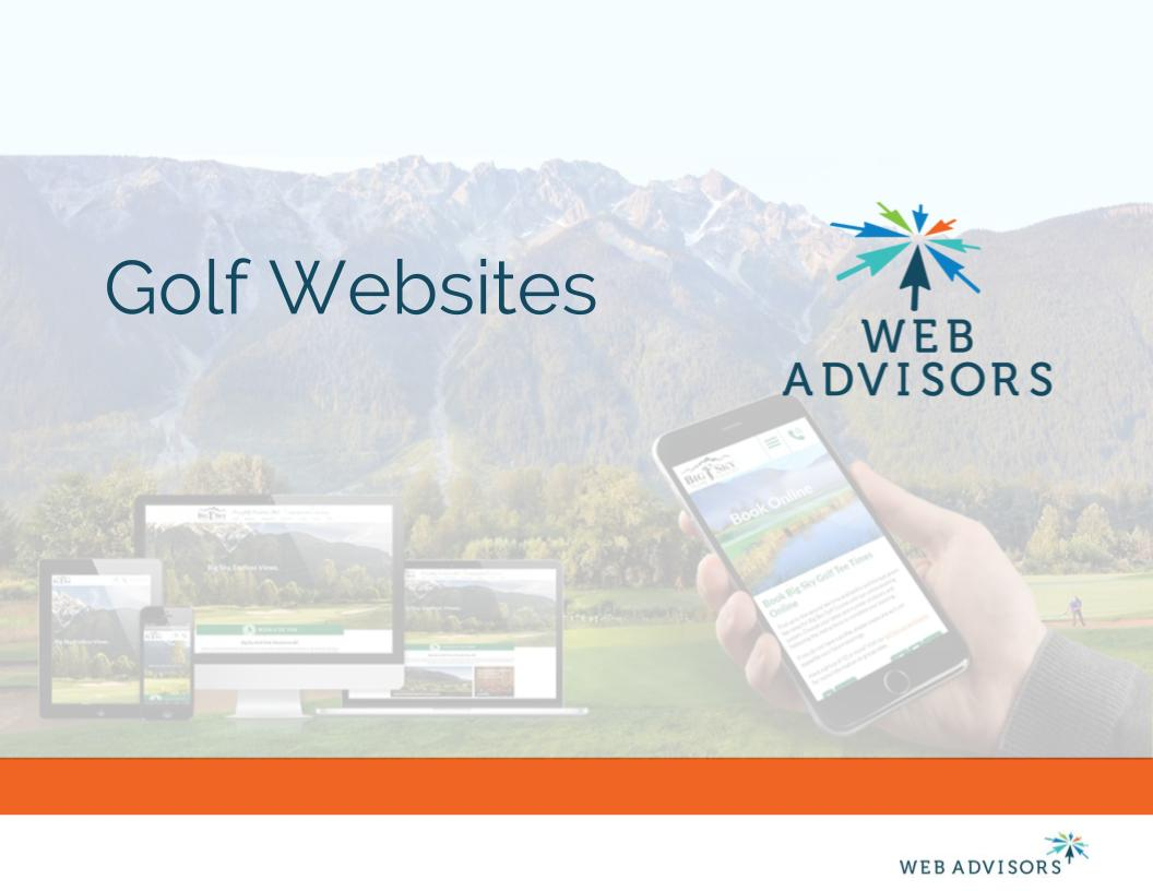 TWA - Golf Websites