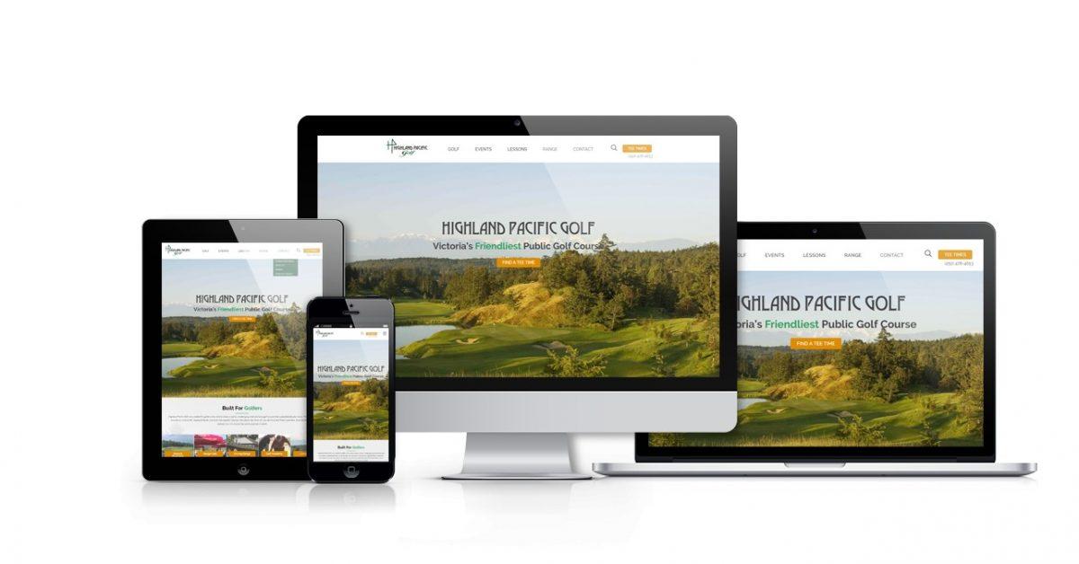 Highland Pacific Website Portfolio